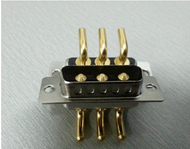 Maching pin D-Sub Connector 3W3Male Right Angle Power Contact Tray Packing
